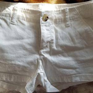 Arizona Jean Company Shorts - size 1 white shorts